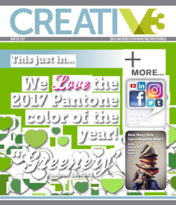 V3 Winter 2017 Cover Contest Entry 4 - Ideas & Insights For Marketing Professionals