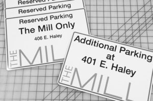 The Mill Parking & Wayfinding Directional Signage - Large Format Printing